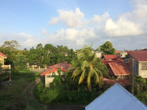 View of the countryside in Kalibo