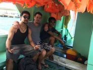 Friends made on the way to Boracay